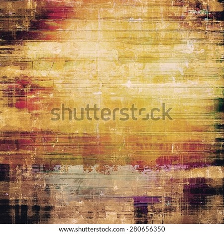 Grunge retro vintage texture, old background. With different color patterns: yellow (beige); brown; pink; black - stock photo