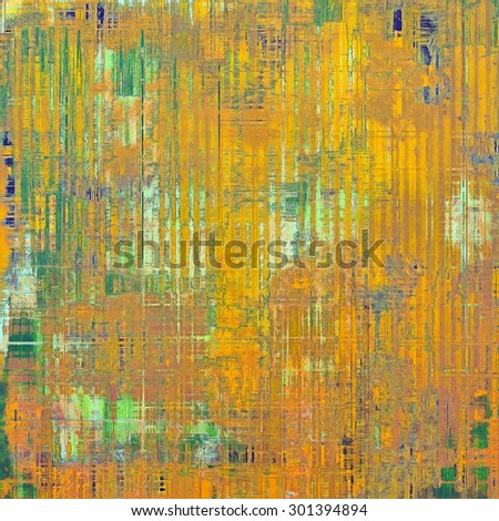 Grunge retro vintage texture, old background. With different color patterns: yellow (beige); brown; green; blue - stock photo