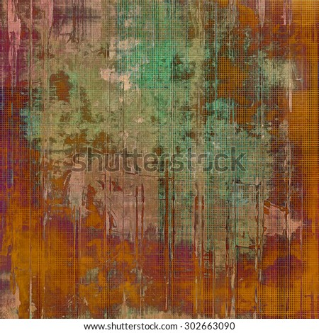 Grunge retro vintage texture, old background. With different color patterns: yellow (beige); brown; purple (violet); green - stock photo