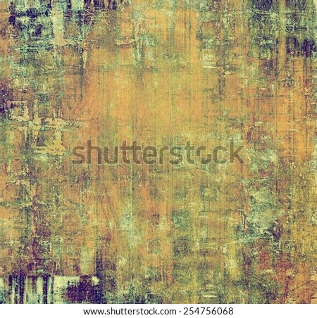 Grunge retro vintage textured background. With different color patterns: yellow (beige); brown; purple (violet); green - stock photo
