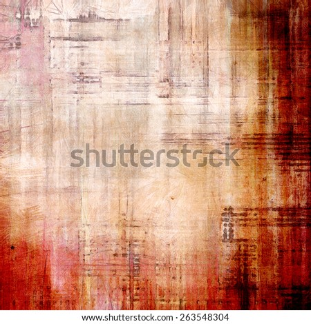 Grunge retro vintage textured background. With different color patterns: yellow (beige); brown; gray; red (orange) - stock photo