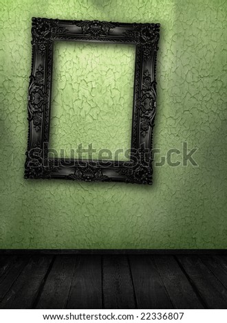 Grunge room interior, similar available in my portfolio