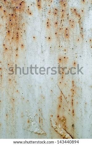 Grunge rusty metal texture - stock photo
