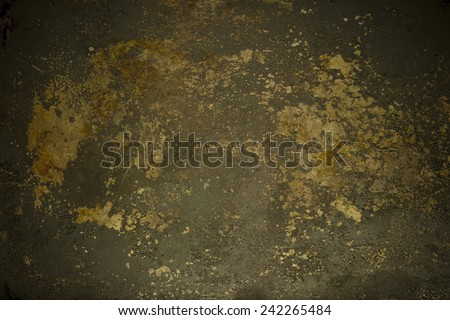 grunge rusty weathered metal wallpaper with scratch - stock photo