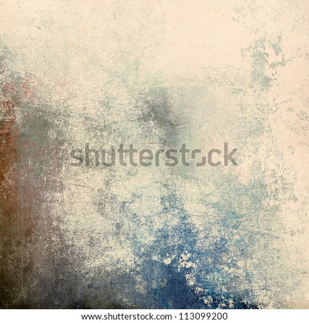 Grunge scratched background - stock photo