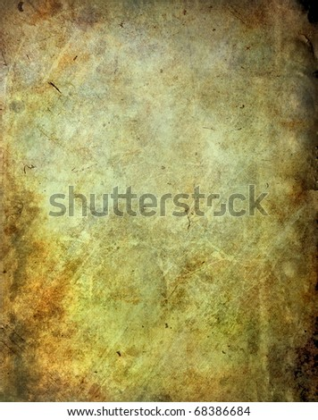Grunge scratched surface - stock photo