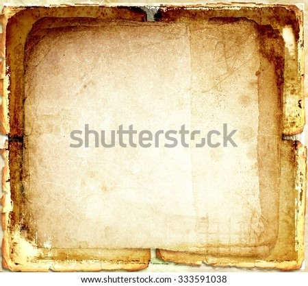 Grunge sepia abstract background - stock photo