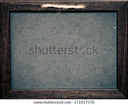Grunge small blackboard as a background for your message