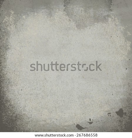 grunge stained paper wall - stock photo