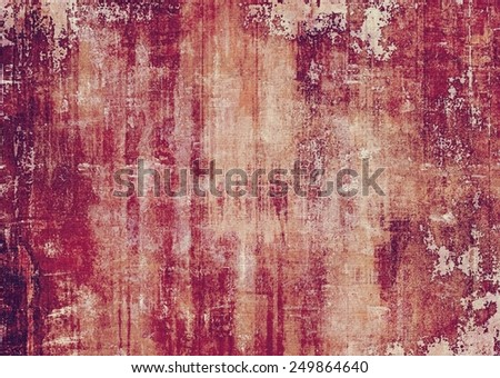 Grunge stained texture, distressed background with space for text or image. With different color patterns: yellow (beige); brown; gray; purple (violet); pink - stock photo