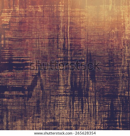 Grunge stained texture, distressed background with space for text or image. With different color patterns: brown; purple (violet); pink - stock photo
