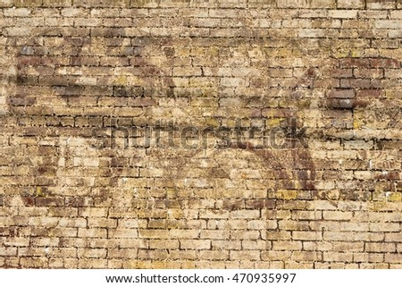 Grunge stone wall exterior backdrop