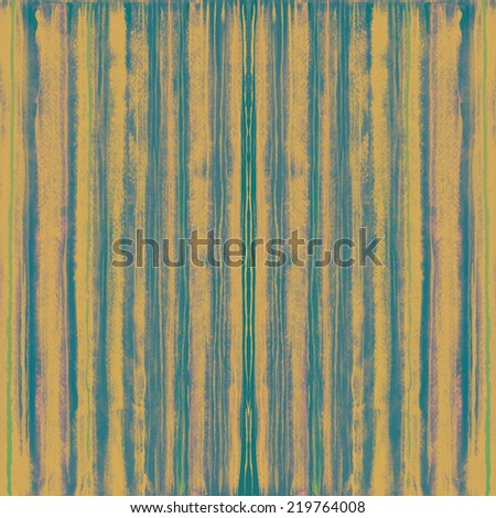 Grunge stripes. Hand drawn watercolor background. - stock photo