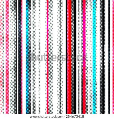 grunge stripes seamless texture (raster version) - stock photo