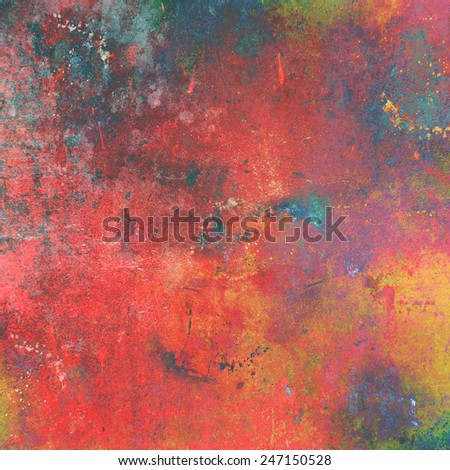 Grunge style abstract art background - stock photo