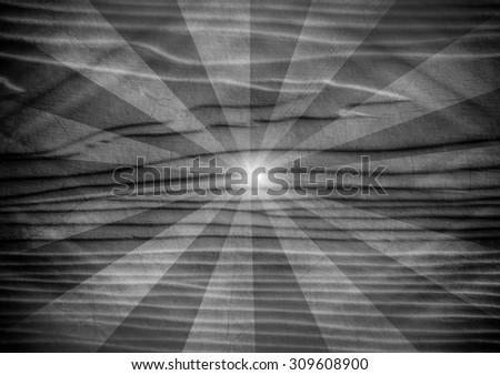 Grunge Sun Sunburst background - stock photo