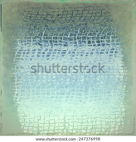 Grunge texture background with weave of fabric - stock photo