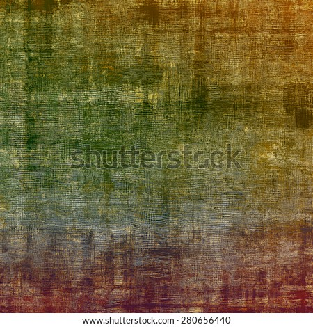 Grunge texture, distressed background. With different color patterns: brown; gray; purple (violet); green - stock photo