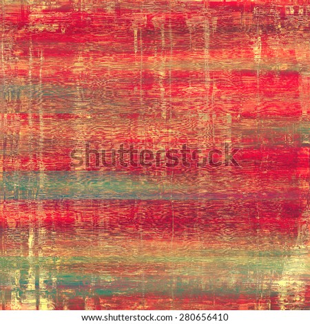 Grunge texture, may be used as background. With different color patterns: brown; pink; red (orange); green - stock photo