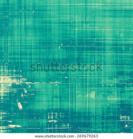 Grunge texture, may be used as retro-style background. With different color patterns: blue; cyan