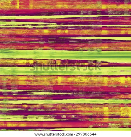 Grunge texture, may be used as retro-style background. With different color patterns: yellow (beige); purple (violet); green; red (orange) - stock photo