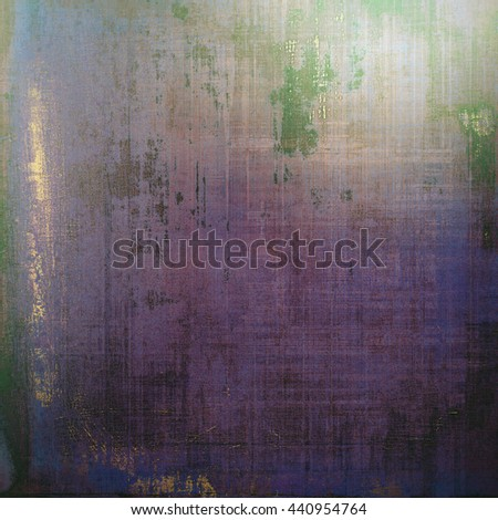 Grunge texture or background with retro design elements and different color patterns: brown; green; blue; gray; purple (violet); pink