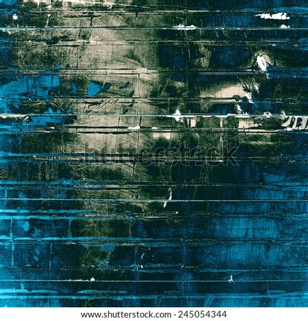 Grunge texture, Vintage background. With different color patterns: gray; blue; cyan; black - stock photo