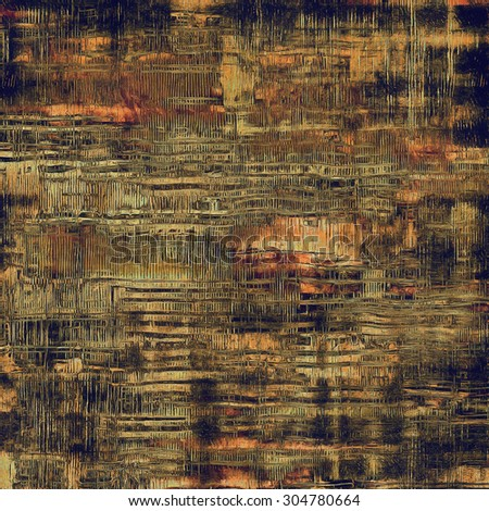 Grunge texture, Vintage background. With different color patterns: yellow (beige); brown; black; red (orange) - stock photo