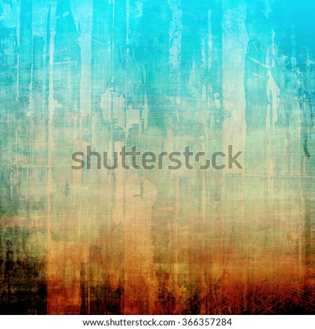 Grunge texture, Vintage background. With different color patterns: yellow (beige); brown; blue; white; red (orange) - stock photo