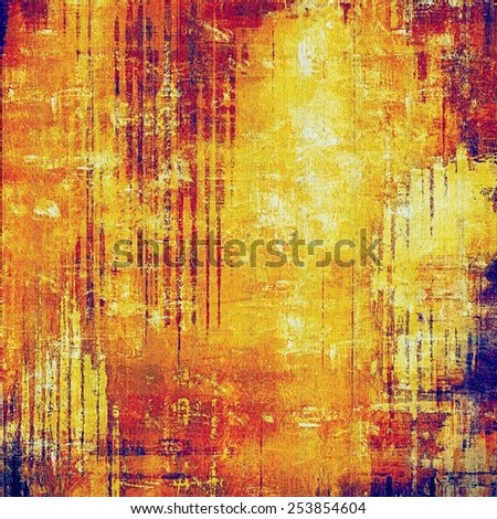 Grunge texture. With different color patterns: yellow (beige); blue; red (orange); purple (violet) - stock photo