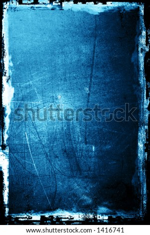 Grunge textured background with border - stock photo