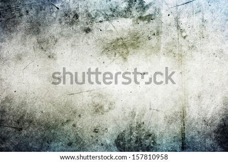 Grunge textured wall closeup. Copy space - stock photo