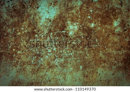 Grunge textured wall. May be used as a background - stock photo