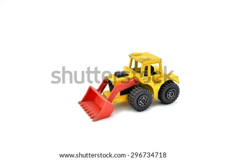 Grunge Tractor Toy Model