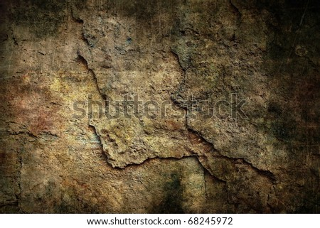 Grunge underground wall - stock photo