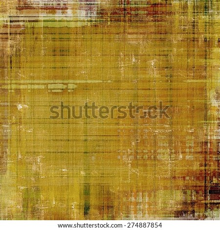 Grunge, vintage old background. With different color patterns: yellow (beige); brown; gray; green - stock photo
