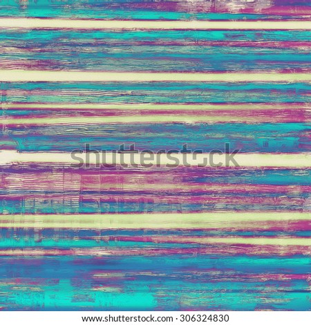 Grunge, vintage old background. With different color patterns: yellow (beige); purple (violet); blue; cyan - stock photo