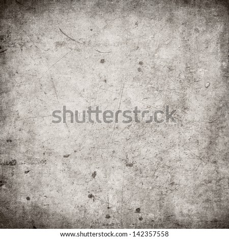 grunge wall, highly detailed textured background - stock photo