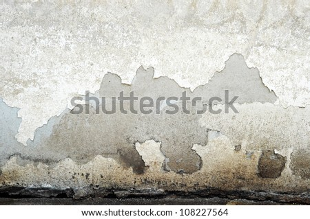 Grunge wall (urban texture) - stock photo