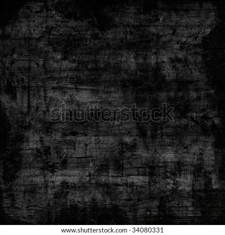 Grunge wall with border - stock photo