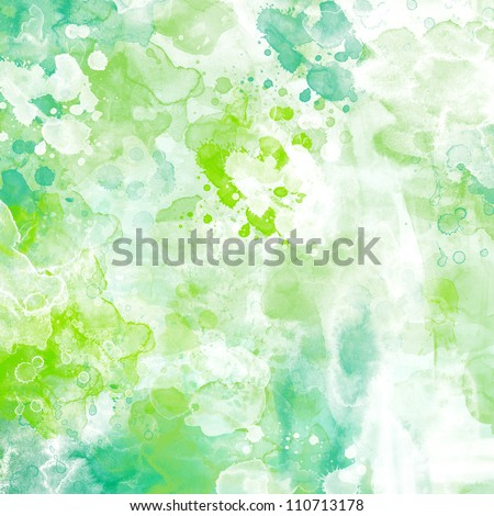 Grunge watercolor background - stock photo