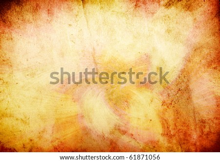 grunge wheat background with space for text or image - stock photo