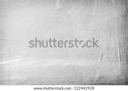 Grunge white stone texture of closeup fragment wall - stock photo