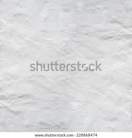 grunge white stucco vintage wall texture background - stock photo