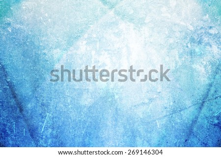 grunge  white to blue gradient abstract background - stock photo