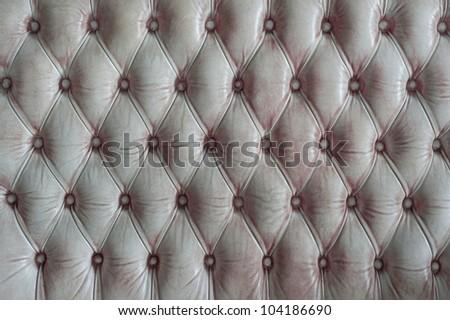 Grunge White Upholstery - stock photo