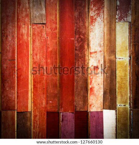 grunge wood texture for background - stock photo