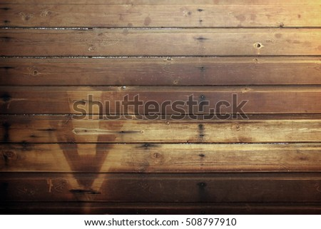 Grunge wooden background. Old and worn wooden plank