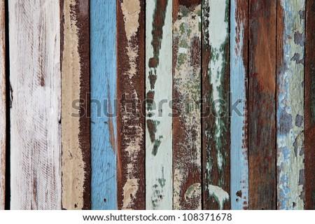 grunge wooden tile. - stock photo