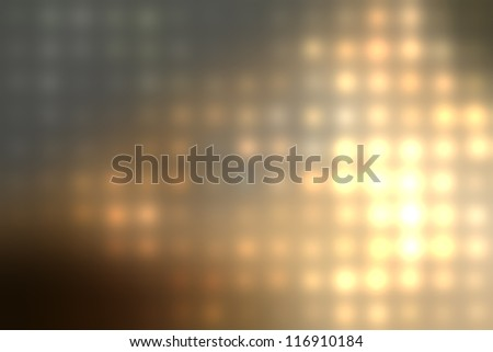 grungy blurred background of colored lights - stock photo